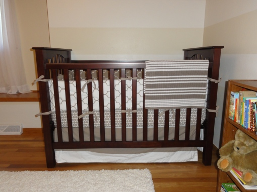 Khaki Nursery Bedding